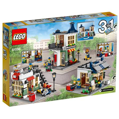 Lego 31036 And Grocery Shop lego creator grocery shop 31036 163 35 00 hamleys for lego creator grocery shop 31036