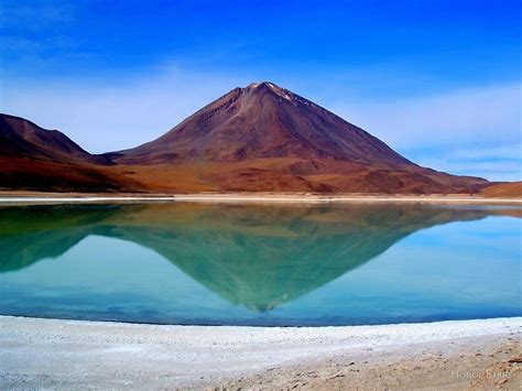 Wall Sticker World quot volcano reflection laguna verde quot by honor kyne redbubble