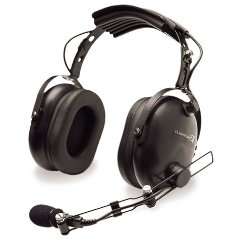 Headset Pilot flightcom 4dx passive pilot headset with free headset