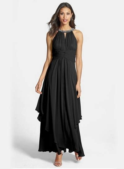 Sleeveless Halter Pleated Dress s halter sleeveless maxi chiffon pleated dress