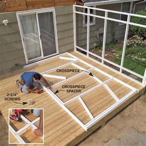 screen porch plans do it yourself pinterest the world s catalog of ideas