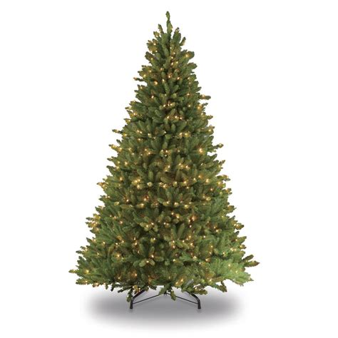 home depot 9 foot douglas fir artificial treee national tree company 6 5 ft kingswood fir pencil artificial tree with clear lights