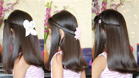 easy to make open hairstyles simple hairstyle for indian wedding party open hairstyle