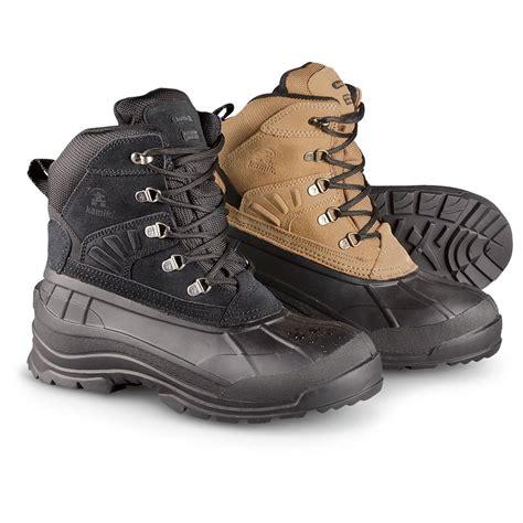 mens thinsulate boots s kamik 174 200 gram thinsulate insulation waterproof