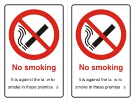 no smoking signage requirements scotland no smoking signs smoking banned public places pubs clubs