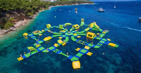 How To Build A Backyard Water Park Floating Water Park Coming To Lake Michigan Beach
