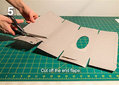 How To Make A Handmade Brochure - diy make your own brochure holder from a tissue box all