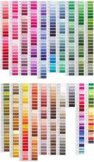 embroidery thread colors dmc color chart embroidery floss color charts