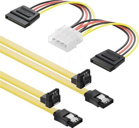Kabel Sata Set interne festplatten deleycon bei i tec de
