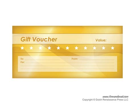gift card voucher template free printable gift voucher templates blank gift vouchers