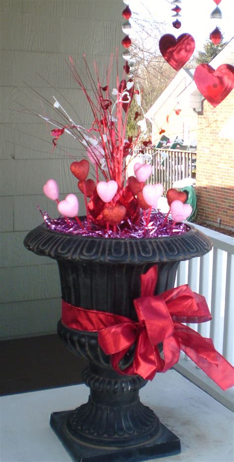 valentines day decor outdoor decor for valentine s day simple home decoration