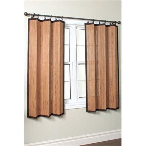 bamboo ring curtain versailles home fashions bamboo ring top curtain single