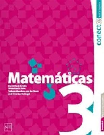 libro de matematicas 3 secundaria contestado 2016 matem 225 ticas 3 secundaria conect estrategias