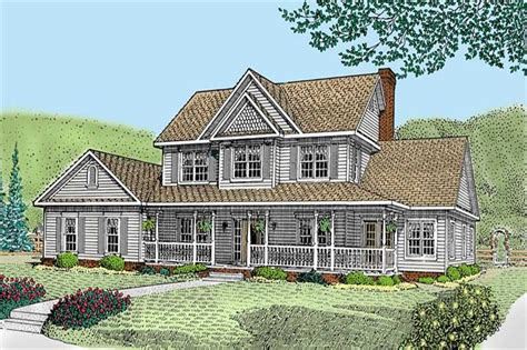 alfred country farmhouse plan 032d 0341 house plans and more farmhouse house plans with garage home desain 2018