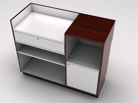 desk for register whitevan