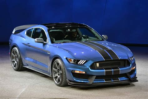 Mustang New York Auto Show 2015 by Mustang Shelby Gt350 R Of Ford Displayed At 2015 New York