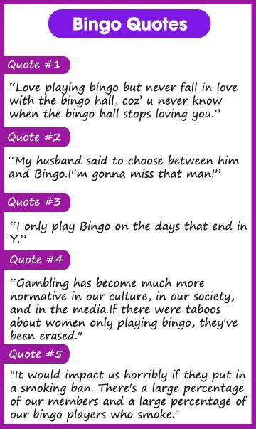 bingo quotes image quotes  hippoquotescom