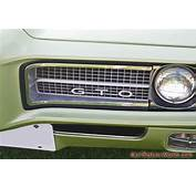 1969 Convertible GTO Grill Picture