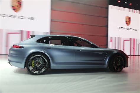 porsche panamera concept glimpse of the new porsche panamera sport turismo concept car