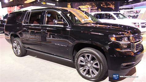 2020 Chevrolet Suburban Detroit Auto Show by 2018 Chevrolet Suburban Premier Exterior And Interior