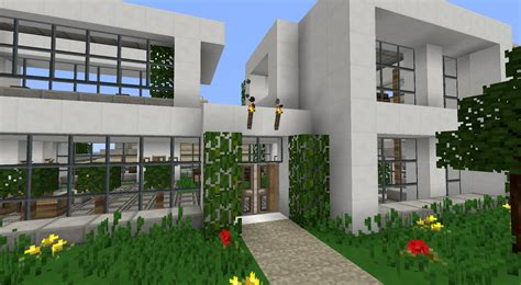 Modernhouse by Pamplemousse Minecraft Texture Packs