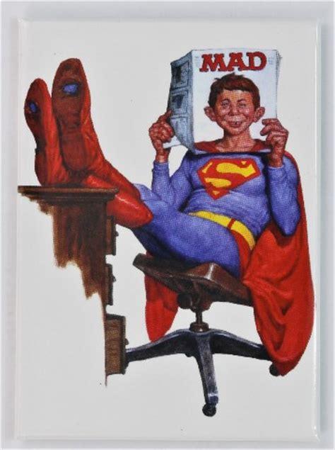 Nesa Shopp Tetrise Syari Najwa mad magazine superman fridge magnet dc comics justice