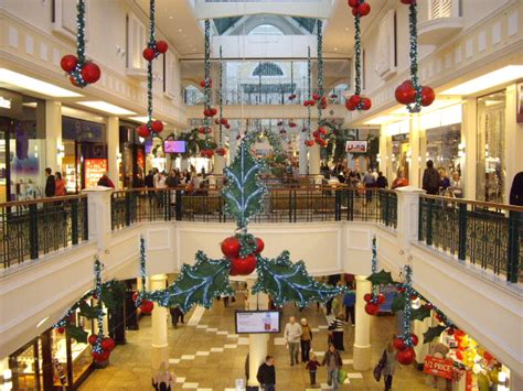 christmas decorations in a shopping mall infobarrel images