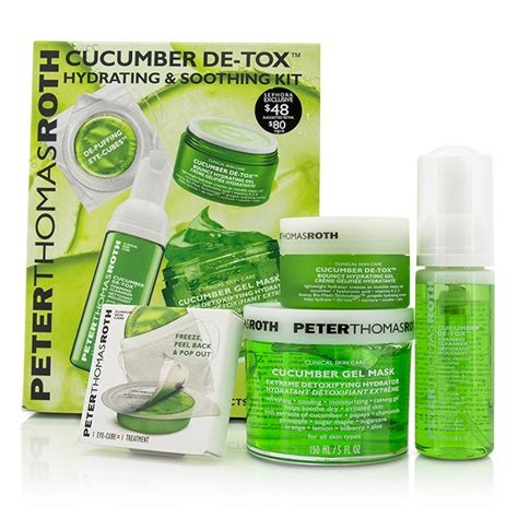 Roth Cucumber Detox Gel by Roth Cucumber Detox Kit Gel Mask 150ml 5oz