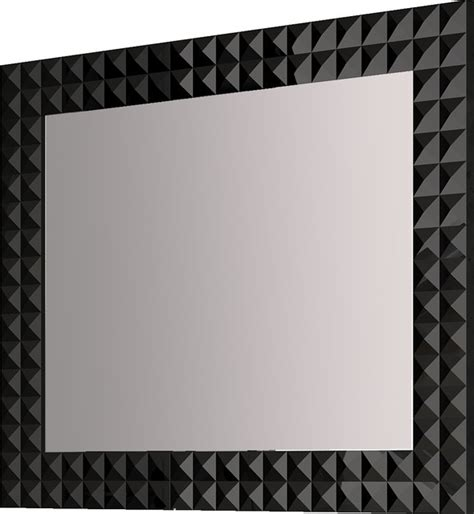 Bathroom Mirror Black 39 Quot 1 4 Bathroom Mirror Black Contemporary Bathroom Mirrors Miami By Macral
