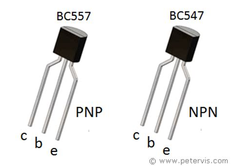 bc547 transistor usage led flasher using bc547 and bc557 transistors