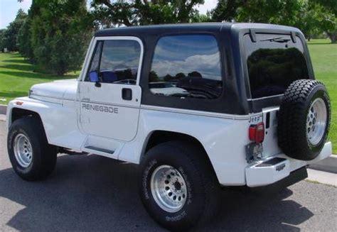 91 Jeep Wrangler Yj Yj Renegade