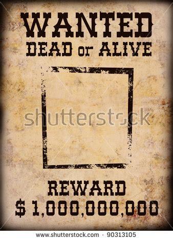 tutorial wanted dead or alive wanted stockfotos und bilder shutterstock
