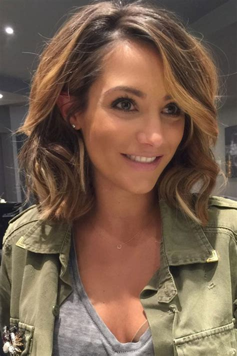 creative parts for shoulder length hair best 25 mid length hairstyles ideas on pinterest