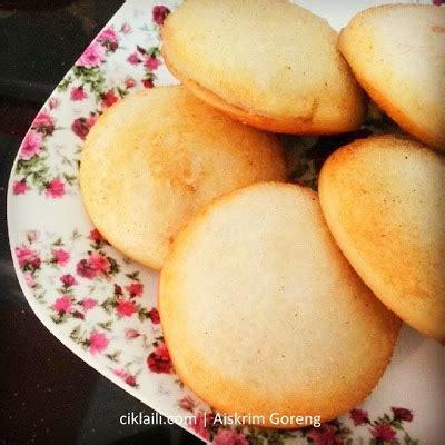 cara membuat roti aiskrim goreng resepi aiskrim goreng coklat ciklaili