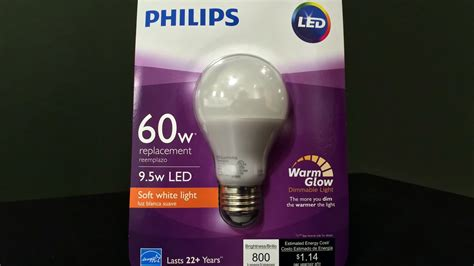 60 w light bulb quick review philips 60 watt equivalent soft white led