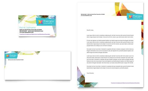counselling business cards templates adolescent counseling business card letterhead template