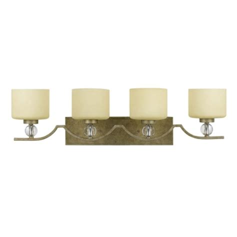 Gold Bathroom Vanity Lights 4 Light Vanity Lighting In Bronze With Gold Trim Uvyhdtwc5474v 4gd