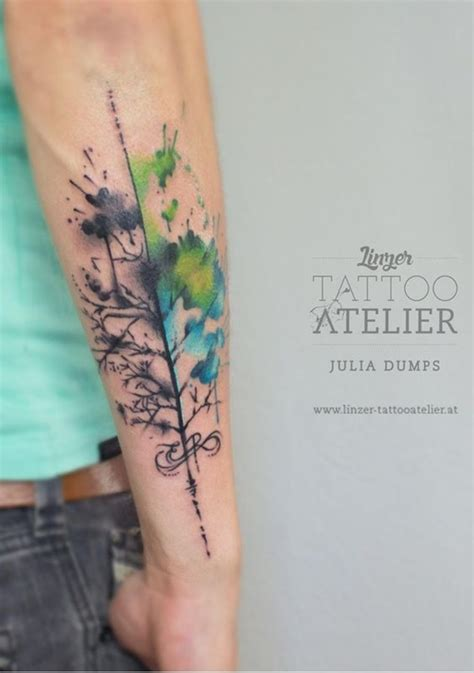100 watercolor tattoos that perfectly replicate the medium
