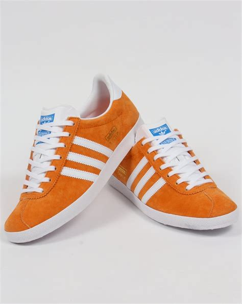 Adidas Orange Black adidas gazelle og orange black suede trainers los granados