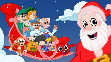 merry christmas songs  kids  animation  magic pet morphle youtube