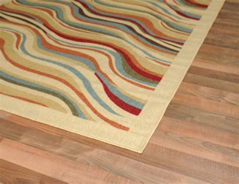 rubber backed runner rugs new heatwave ivory modern design rubber backed durable runner rug carpet ebay