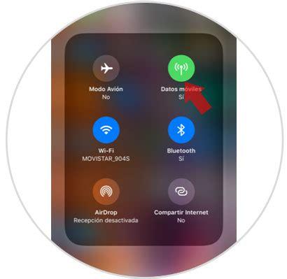como activar  desactivar datos moviles iphone xs  iphone