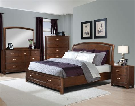bed and bedroom furniture bedroom ideas brown leather bed home delightful
