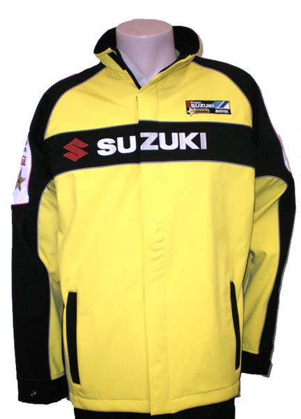Suzuki Jacket Suzuki Launches Race Team Merchandise Range Motoonline