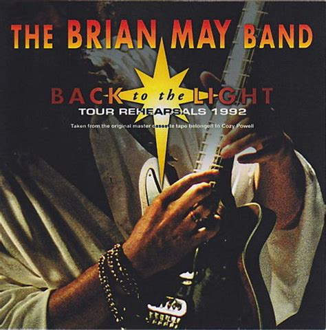 brian may back to the light brian may band back to the light tour rehearsals 1992