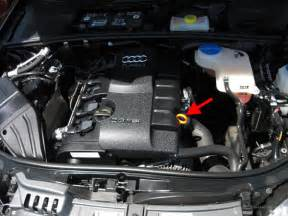 Audi A4 Dipstick How To Maintain Your Engine Steps With Photos