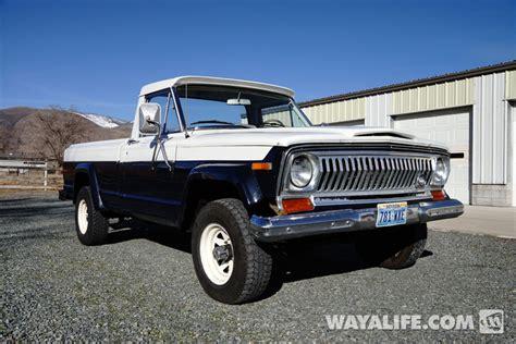 J2000 Jeep 1972 Jeep J2000 Up Truck