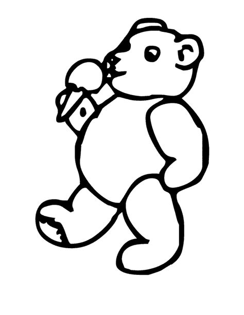 ice cream coloring pages pdf bear eat ice cream coloring pages for kids great