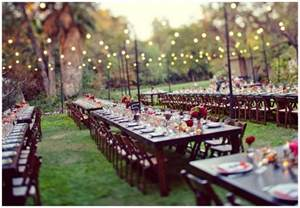 Outdoor Backyard Wedding Reception Ideas Real Enchanted Garden Wedding Steve