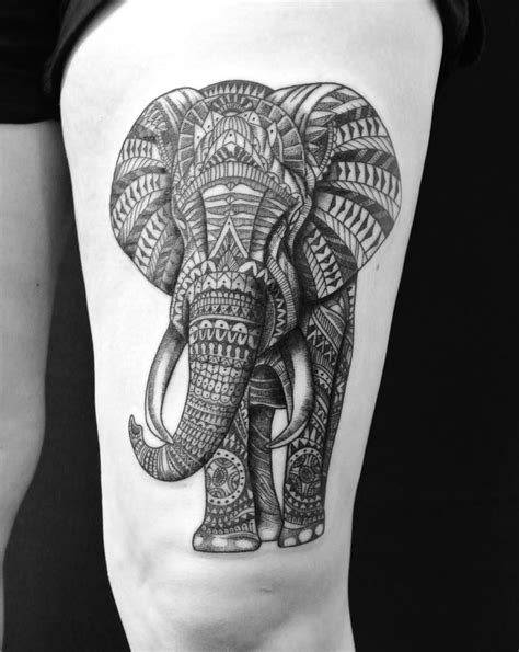 tattoo fixers elephant design yesterday s work on robynne yeahtattoos com